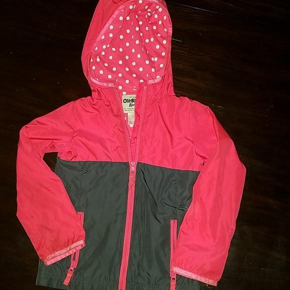 OshKosh B'gosh Other - Oshkosh girls lightweight jacket with hood.